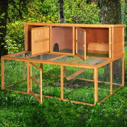 6ft Kendal Rabbit Hutch and Run