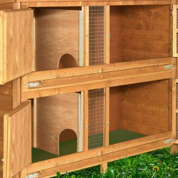 4ft Chartwell 2 Tier Rabbit Hutch