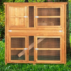 4ft Chartwell Double Luxury Hutch