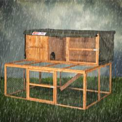 6ft Kendal Rabbit Hutch Cover